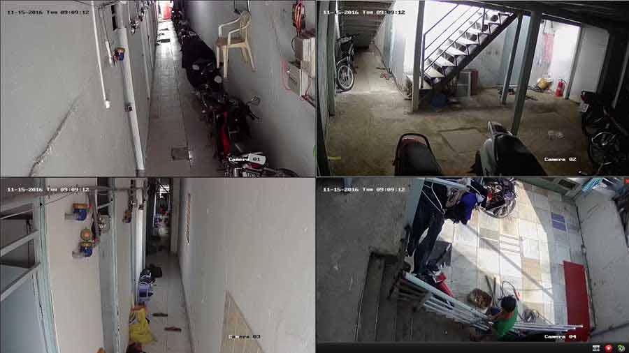 lắp camera quan sát khu nhà trọ