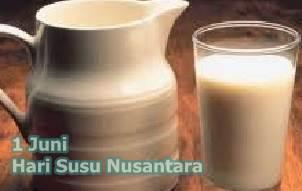 Tanggal 1 Juni Peringatan Hari Susu Nusantara