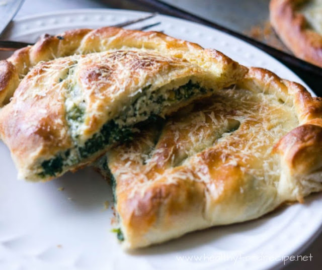 RICOTTA AND SPINACH CALZONES RECIPE