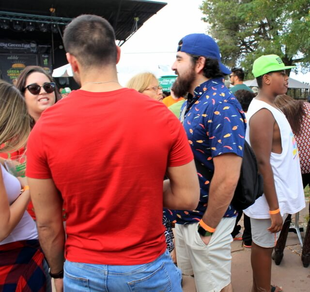 What to wear to a food festival