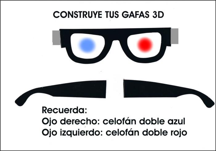 Manual del científico: Gafas anaglifos 3D en 6º C