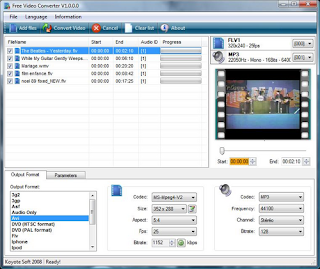 free video converter Merubah Semua Format File Mudah