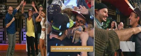 Diego DH vence a sétima edição do reality
