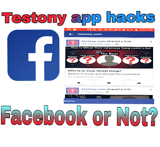 Testony app Hacks the Facebook Account?