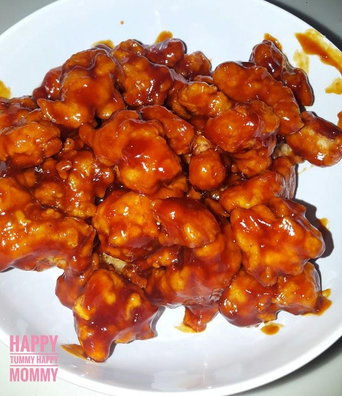 Chicken Popcorn Saus Asam Manis
