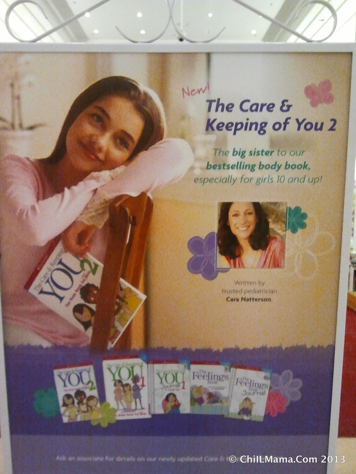 ChiIL Mama : Puberty American Girl Style: The Care and Keeping of