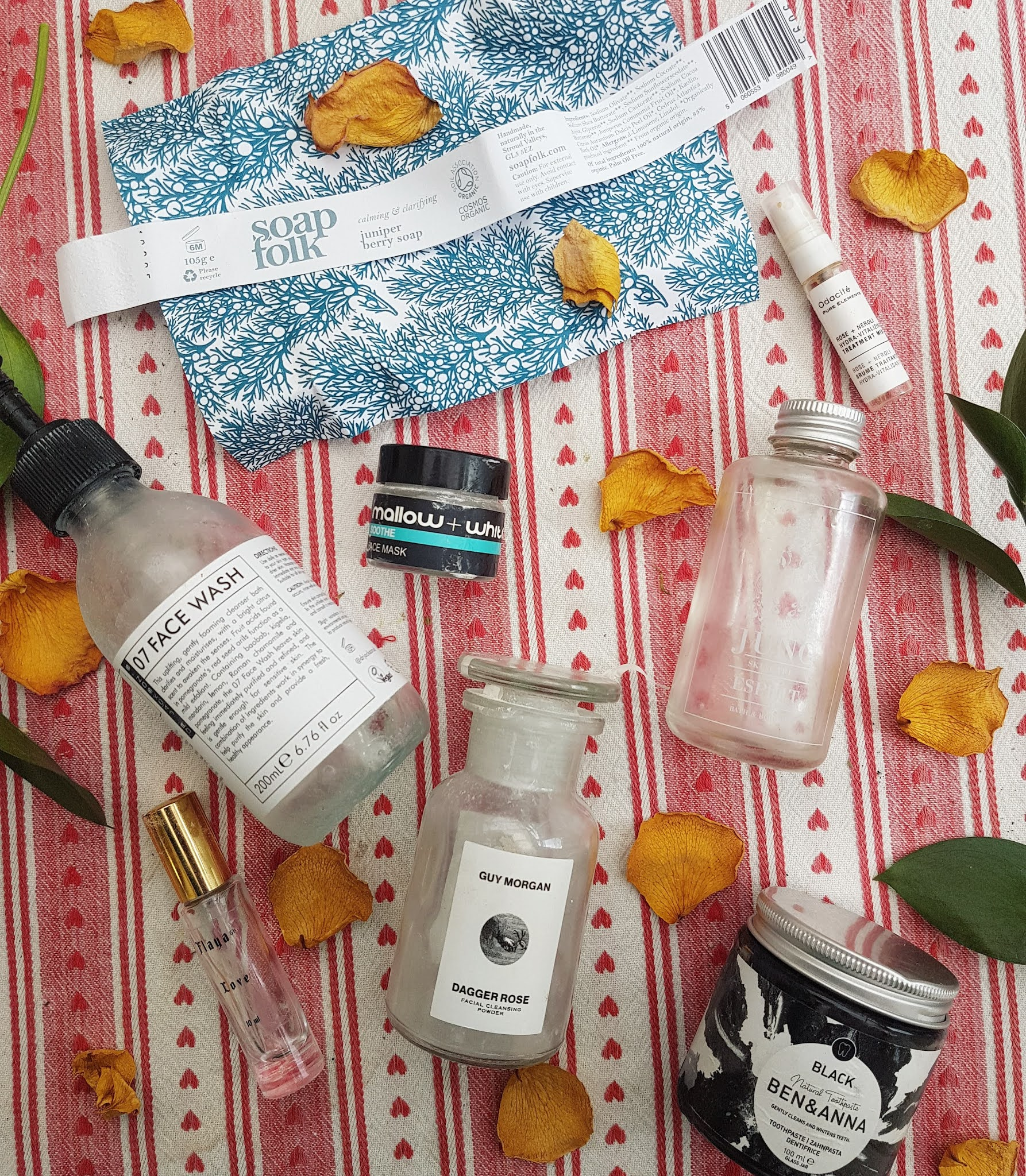 Green Beauty and Wellbeing Empties - End of Summer Roundup