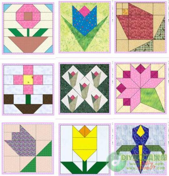 Modelli patchwork da scaricare