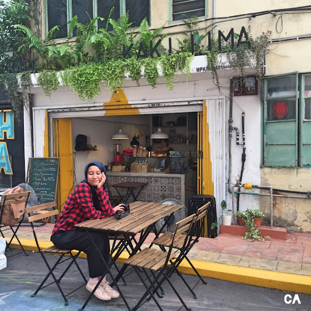 kluang johor malaysia kafe kaki lima curitan aqalili