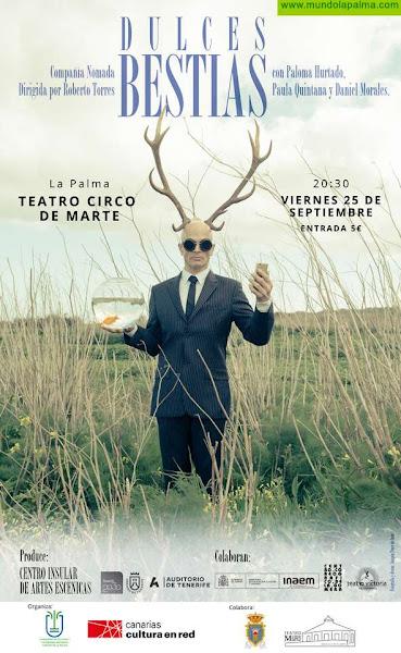 El Cabildo de La Palma organiza el espectáculo 'Dulces Bestias' que combina música y danza