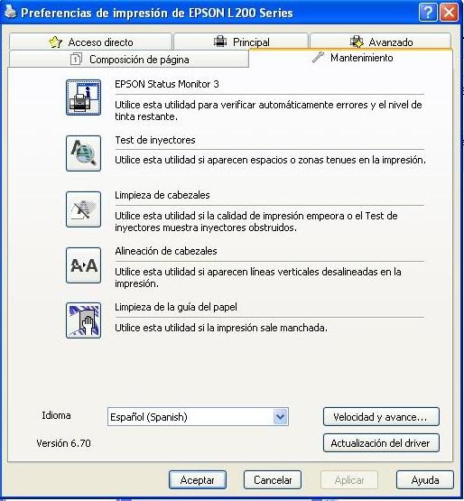 driver epson l220 para mac