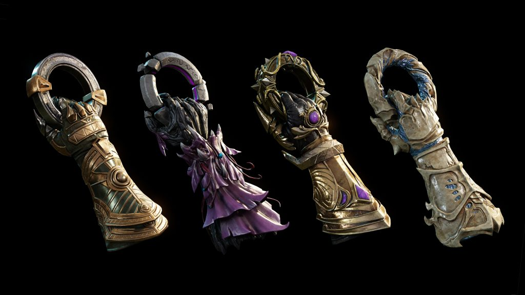 The new weapon Void Gauntlet in the teaser picture.