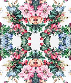 flower print repeat