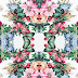 flower print repeat design