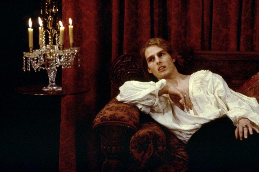 Tom Cruise como Lestat de Lioncourt, no filme Entrevista com o Vampiro
