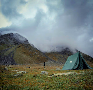 Camping at Kara