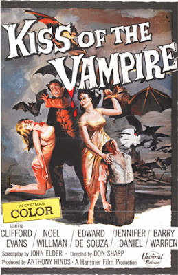 Poster - Kiss of the Vampire (1963)