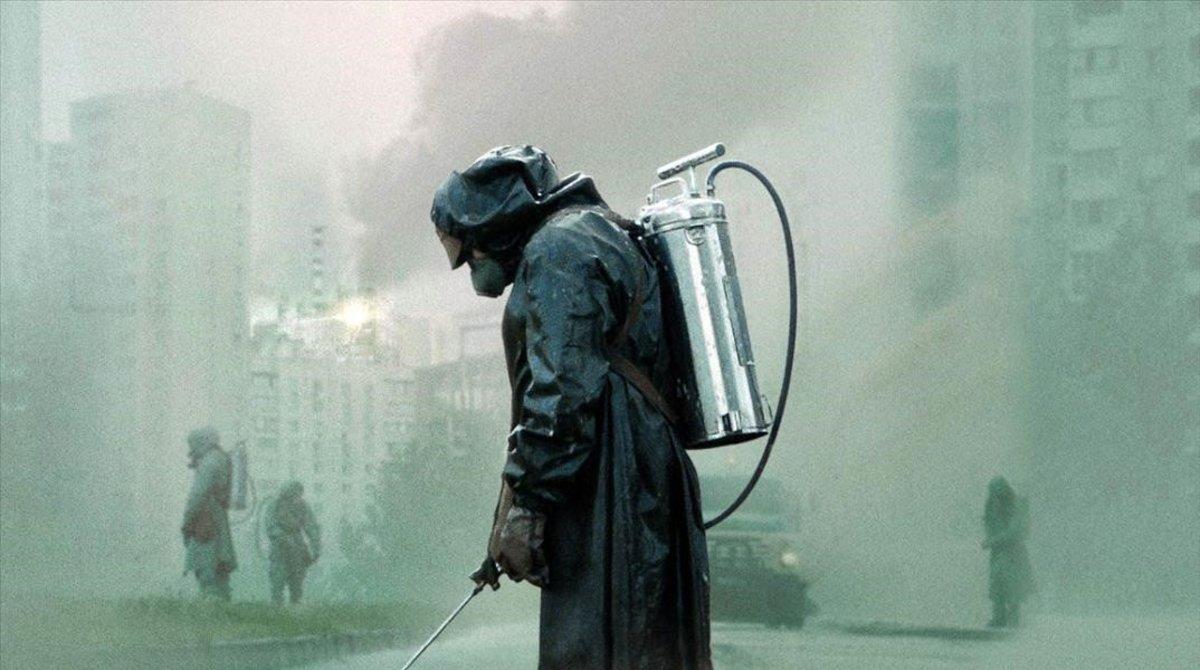 Un limpiador en Chernobyl