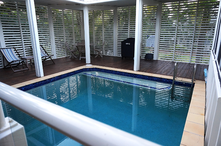 Windjana Beach House pool, Mission Beach, Australia, travel, Euriental