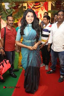 Actress Anupama Parameswaran Stills in Stylish Saree at Shatamanam Bhavathi Audio Launch  0063.JPG