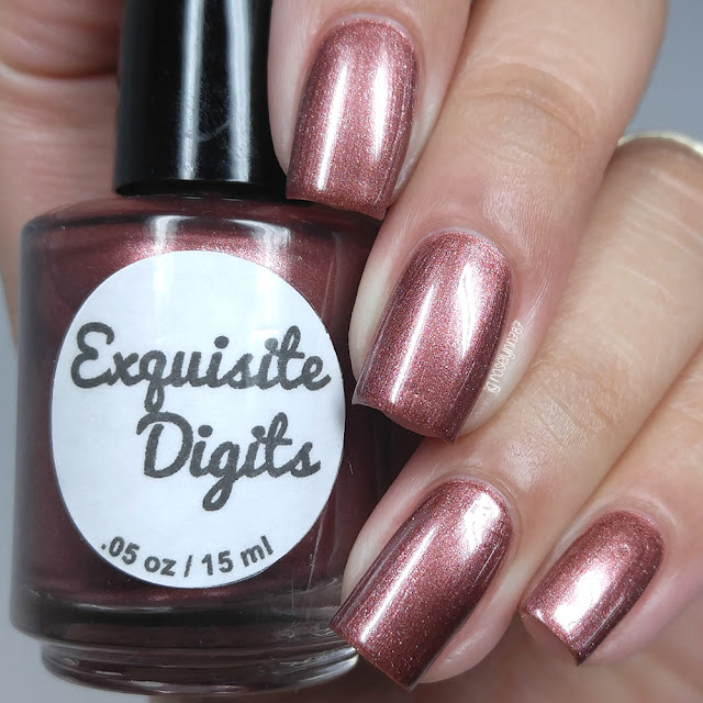 Exquisite Digits - Rose