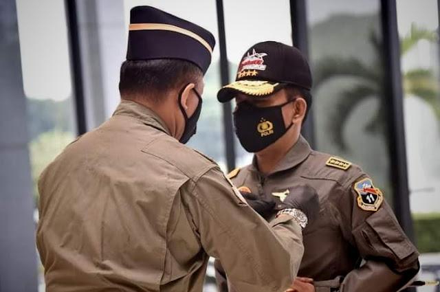 Kapolri Idham Azis Terima Wing Kehormatan Penerbang TNI AU