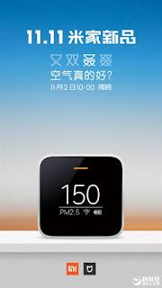 tester kualitas udara buatan Xiaomi