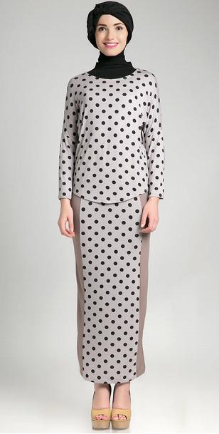 Gambar Model Baju Hamil Muslim Lebaran Modern
