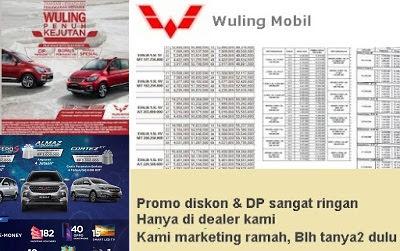 Dealer Wuling Balikpapan Kaltim Promo Harga Mobil Confero