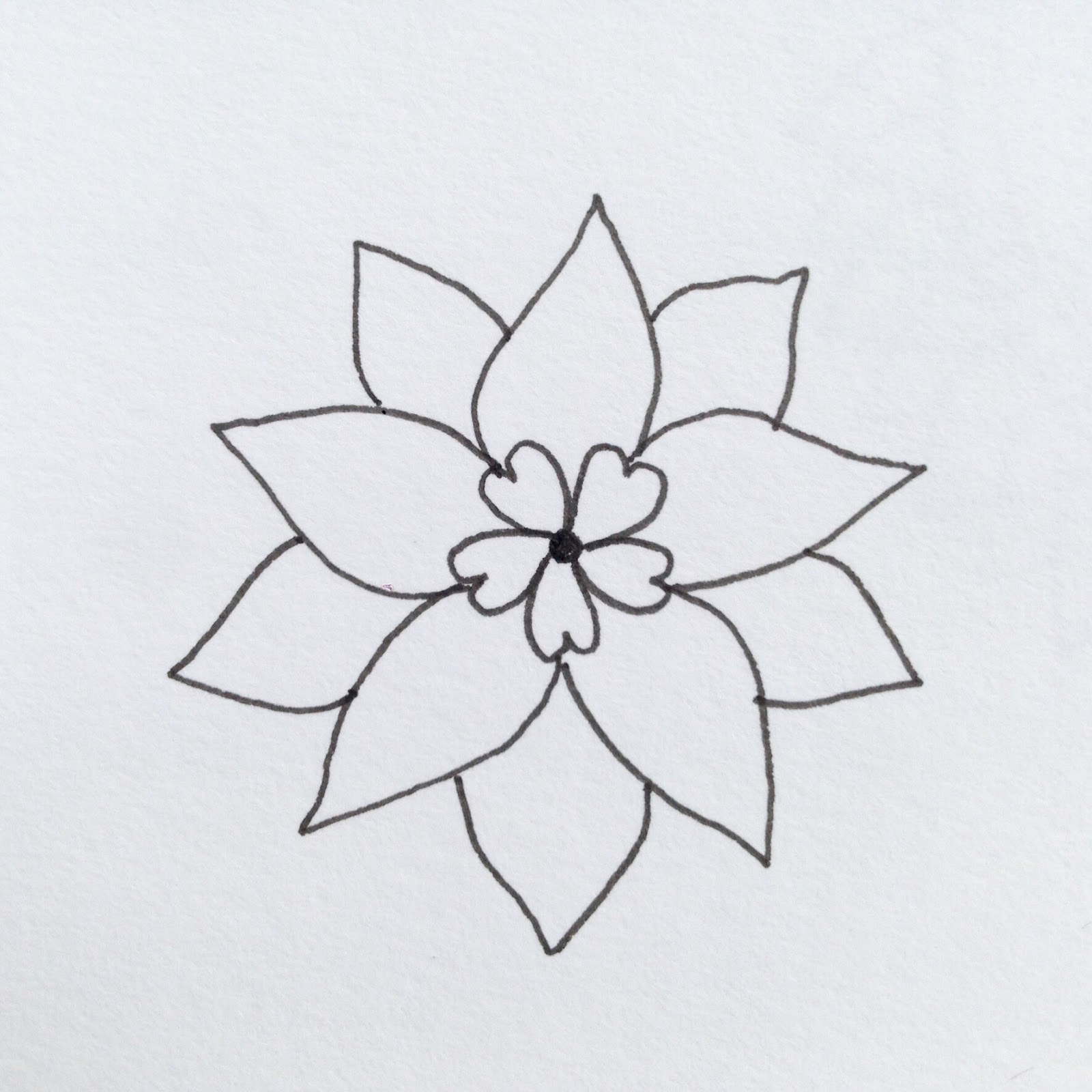 MagaMerlina: Mandala Flower Tutorial