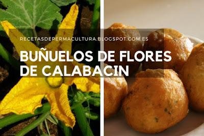 Buñuelos con Flores de Calabacin