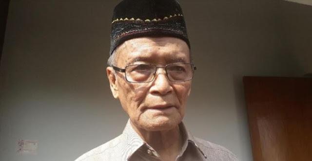 Buya Syafii: Indonesia Bisa Jadi Keping Neraka Sebelum 2045