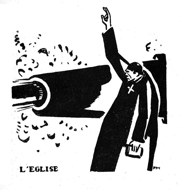 Frans Masereel, L'eglise church blesses war