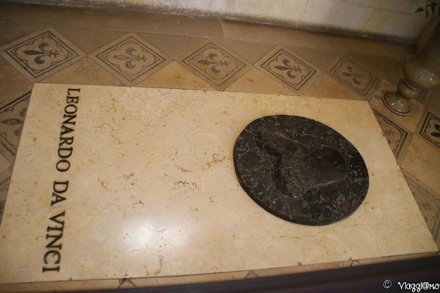 La presunta Tomba di Leonardo da Vinci nella Cappella di Saint Hubert
