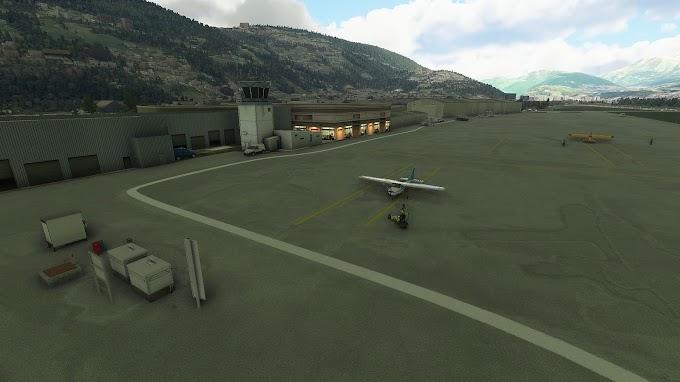 MSFS2020 - LSZA Lugano-Agno Airport Scenery, Switzerland - V.0.5
