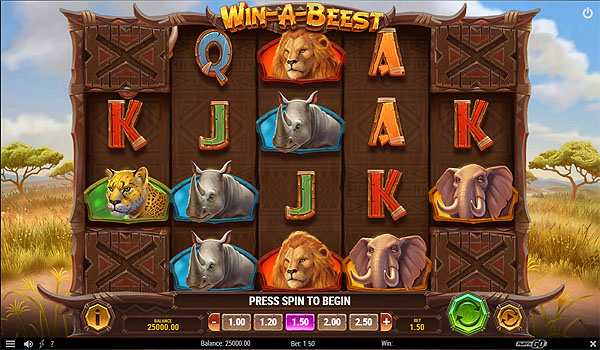 Main Gratis Slot Indonesia - Win-A-Beest (Play N GO)