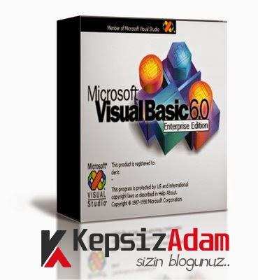 Visual Basic 6 Enterprise Full Tek Link indir VB6 indir