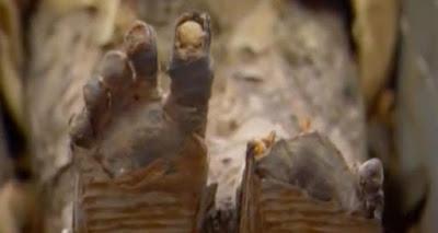 I piedi di Tjuyu furono notevolmente preservati