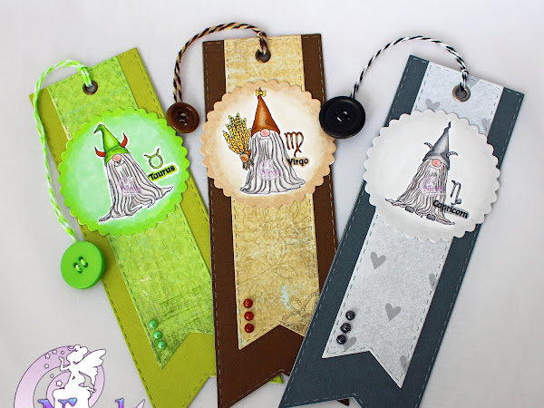 Bookmarks featuring Earth Zodiac Tomte Gnomes