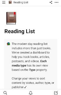 Notion Reading List