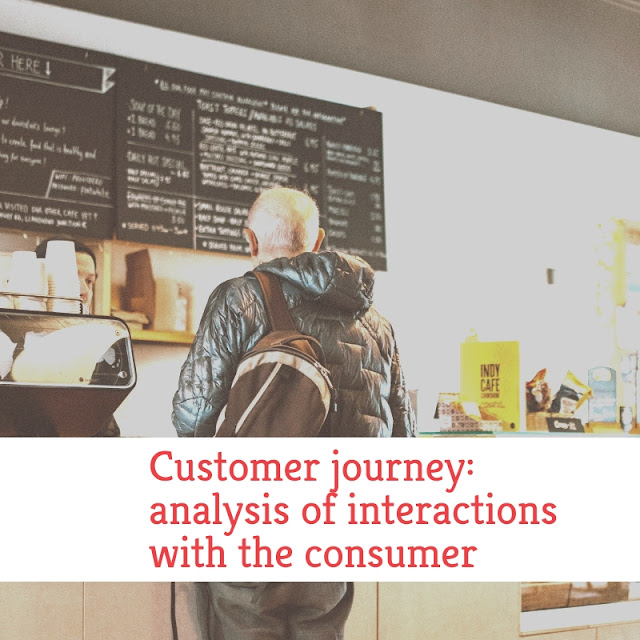 Customer journey analysis of interactions with the consumer