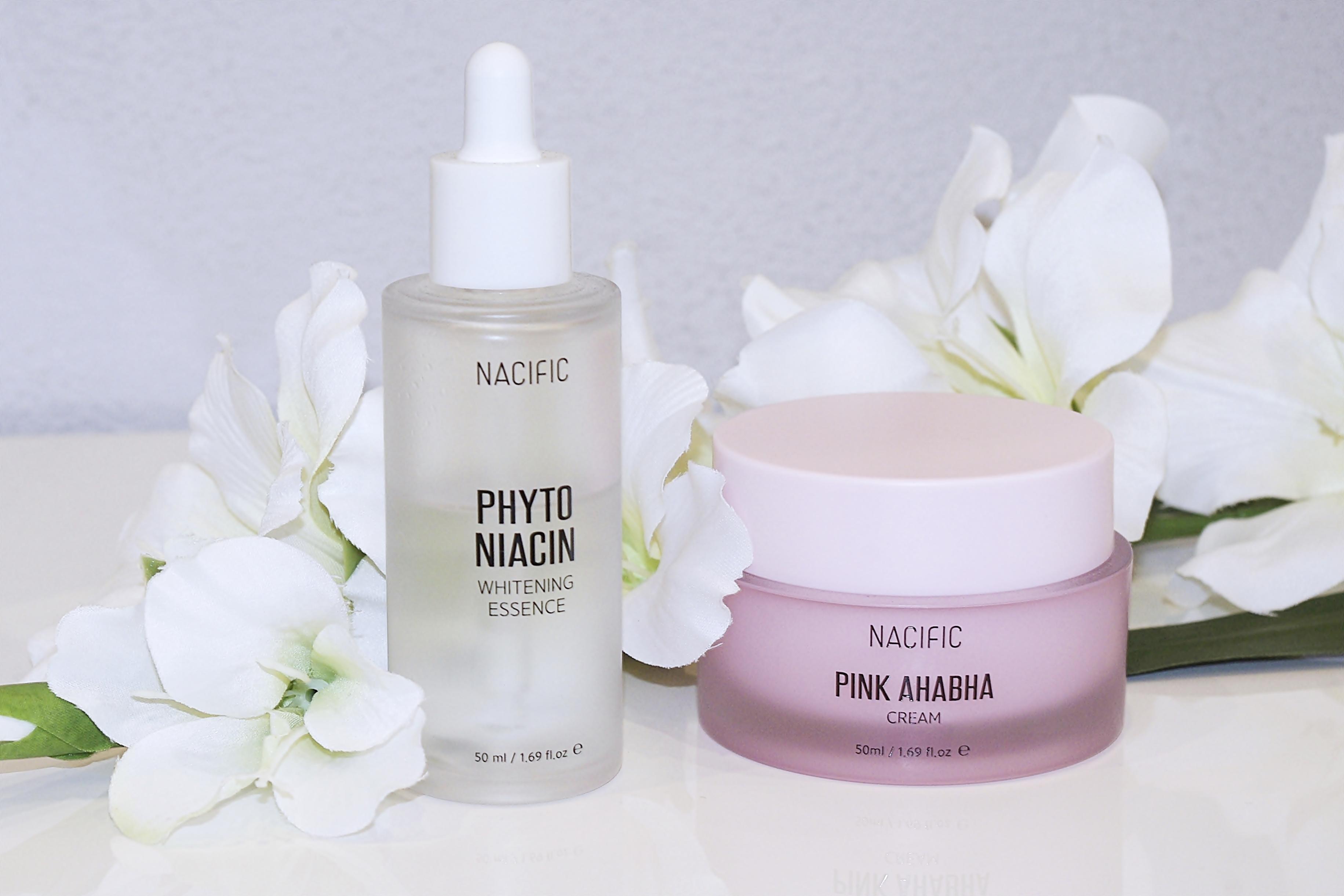 Nacific Phyto Niacin Whitening Essence i Pink AHABHA Cream