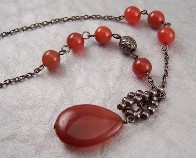 tangerine crush necklace