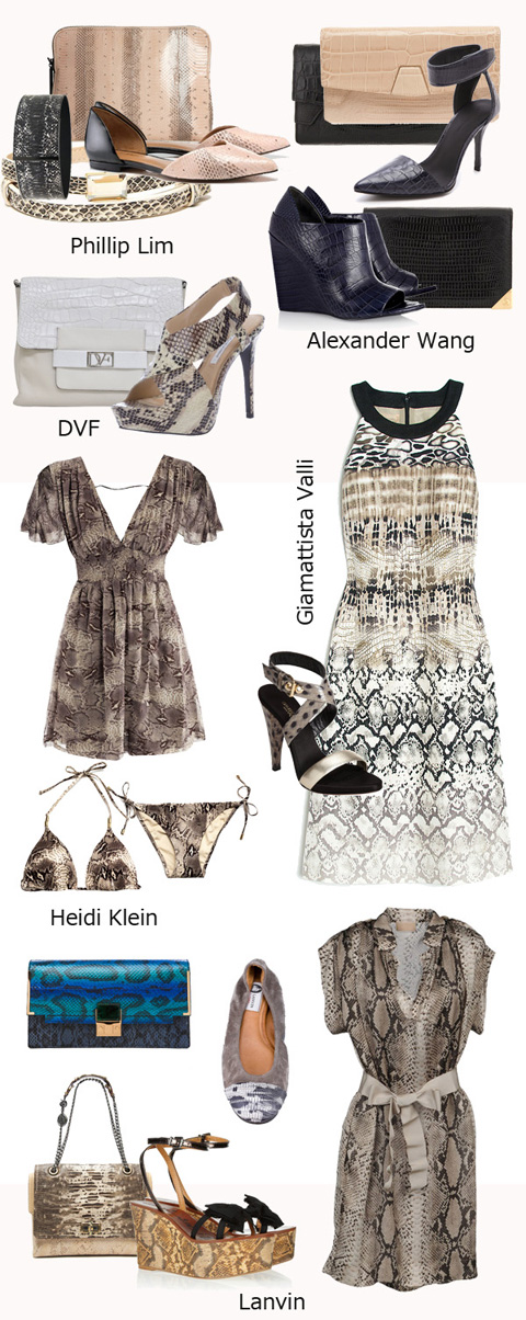 Fashion 2013 Reptile Prints
