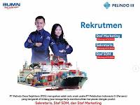 Lowongan Kerja PT Pelindo Daya Sejahtera  (Deadline : 04 September 2019)