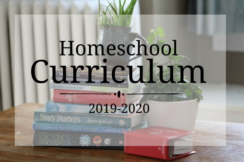 Homeschool Curriculum Choices 2019-2020 #homeschool #curriculum