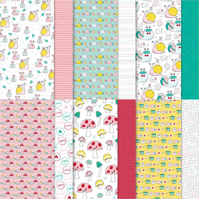 snail mail designer series paper