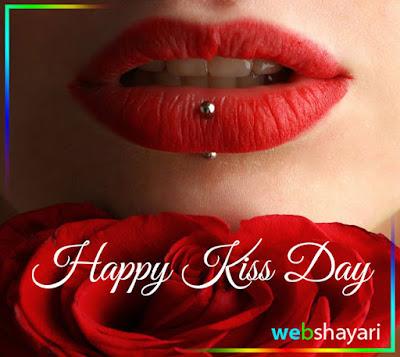 happy kiss day status shayari images hd