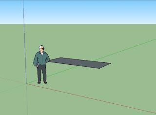 Cara Membuat Dinding di Sketchup Untuk Pemula