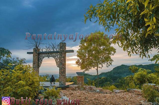 lokasi bukit roso wulan